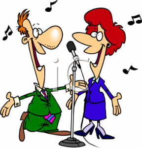 Cartoon_of_a_Singing_Duet_clipart_image
